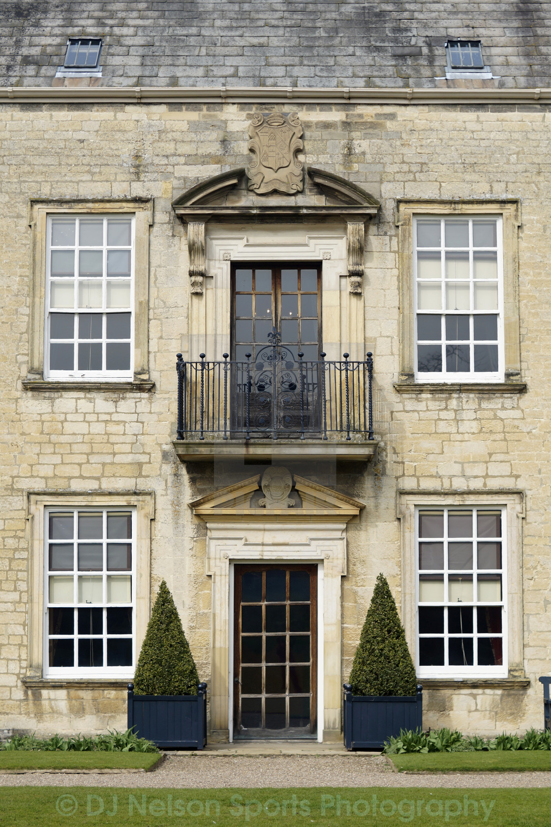 """Nunnington Hall Door"" stock image"